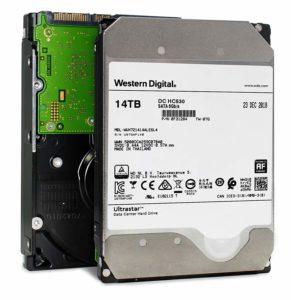 Wester digital 14TB hc530