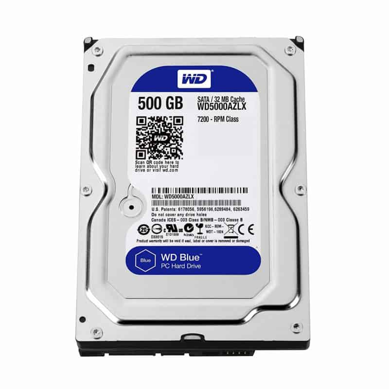 WD Blue 500GB Hard Disk Drive