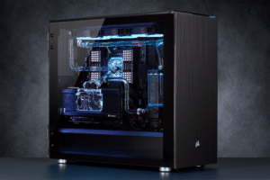 corsair hydro x water cooling pc 1