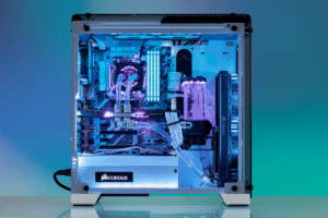 corsair hydro x water cooling pc 10