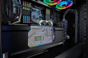 corsair hydro x water cooling pc 6