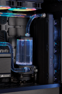 corsair hydro x water cooling pc 8