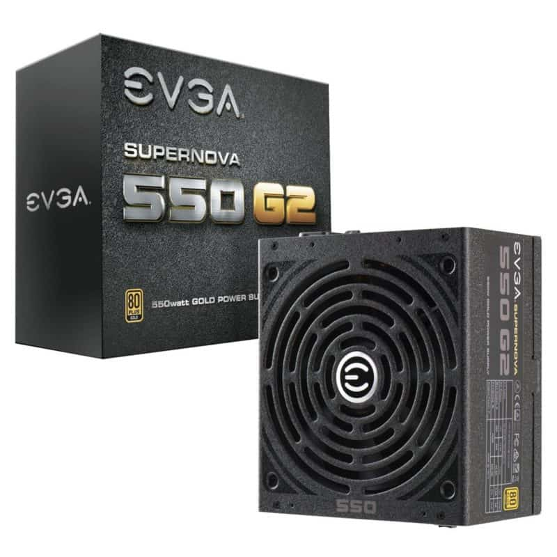 EVGA SuperNOVA 550 G2, 80+ GOLD