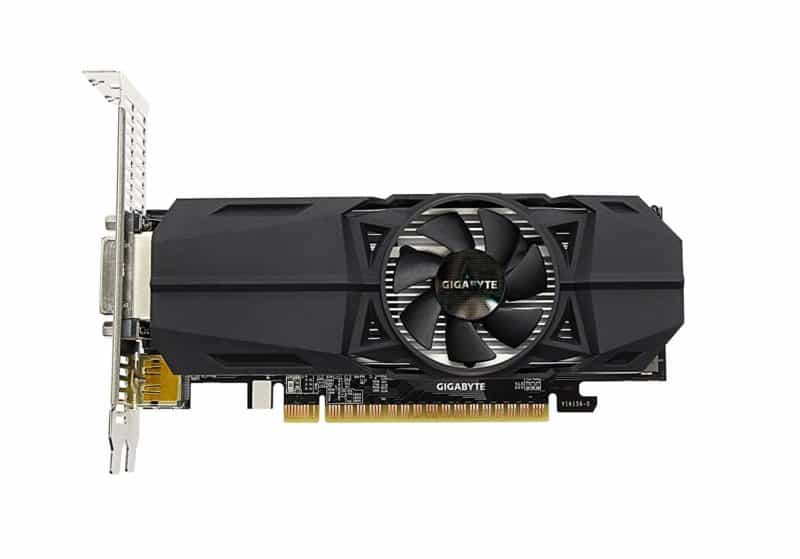 Gigabyte Geforce GTX 1050 OC Low Profile 2GB