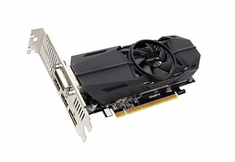 Gigabyte Geforce GTX 1050 Ti OC Low Profile 4GB