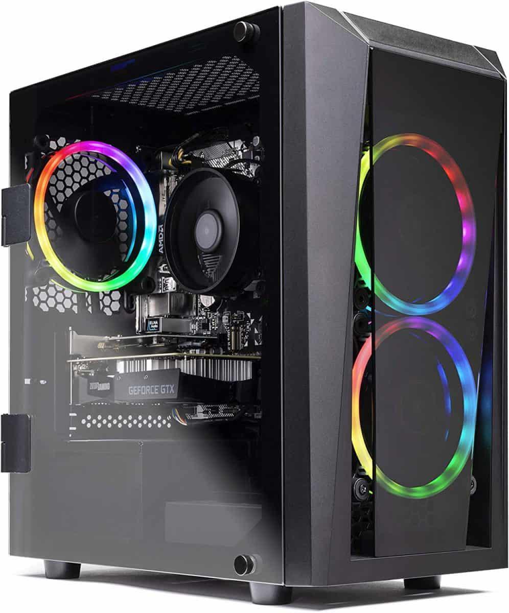 SkyTech Blaze II (GTX 1660TI) Gaming Computer PC Desktop