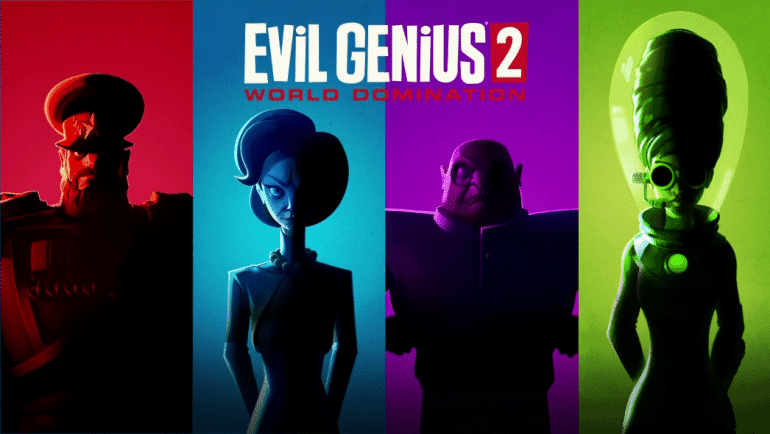 Evil Genius 2 World Domination e3 2019