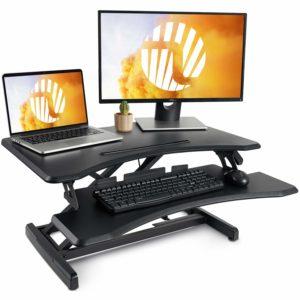 Fezibo 30 black stand up desk