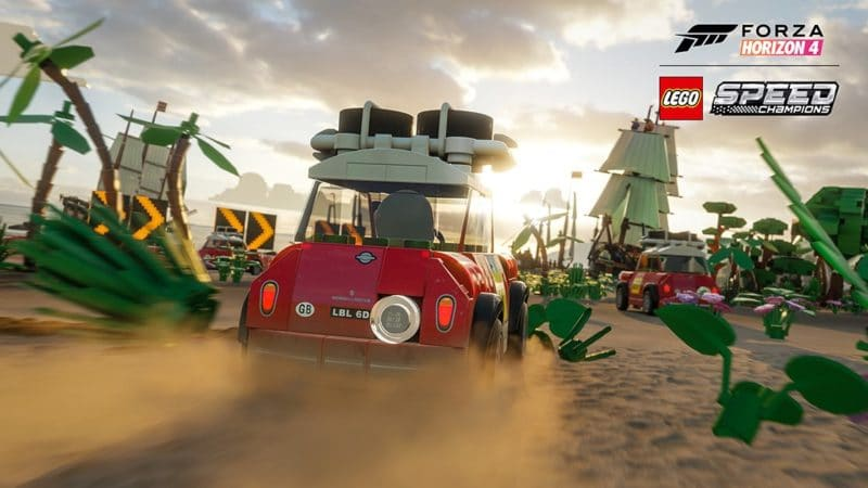Forza Horizon 4's Zany LEGO Speed Champions Expansion Is Out