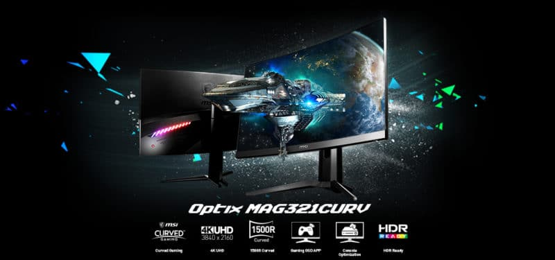 MSI Optix MAG321CURV 4K monitor