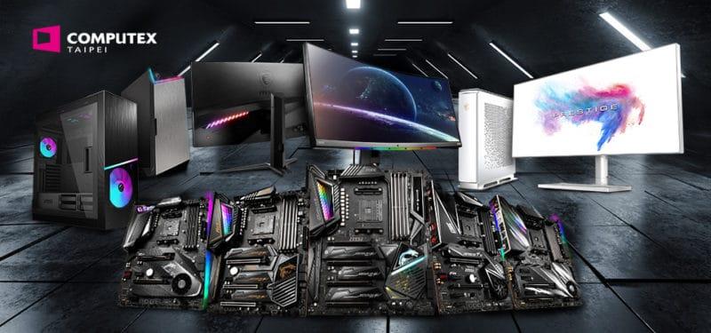 MSI Peripherals Computex 2019
