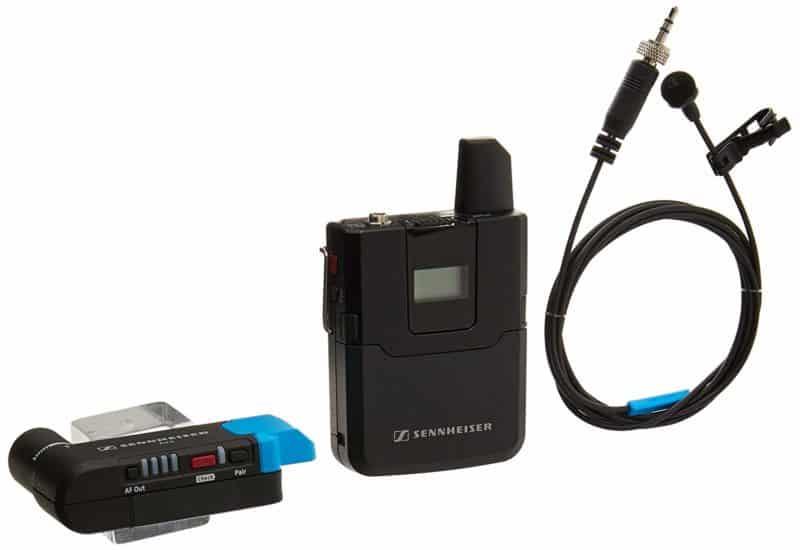 Sennheiser AVX Digital – MKE2 Lavalier Pro Set