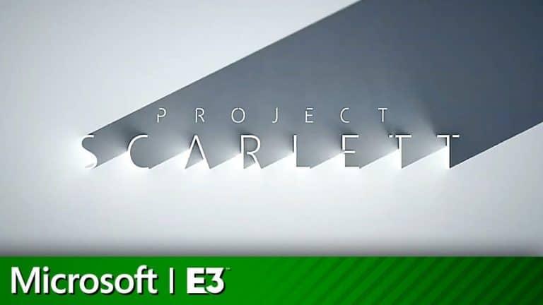 microsoft xbox project scarlett e3 2019