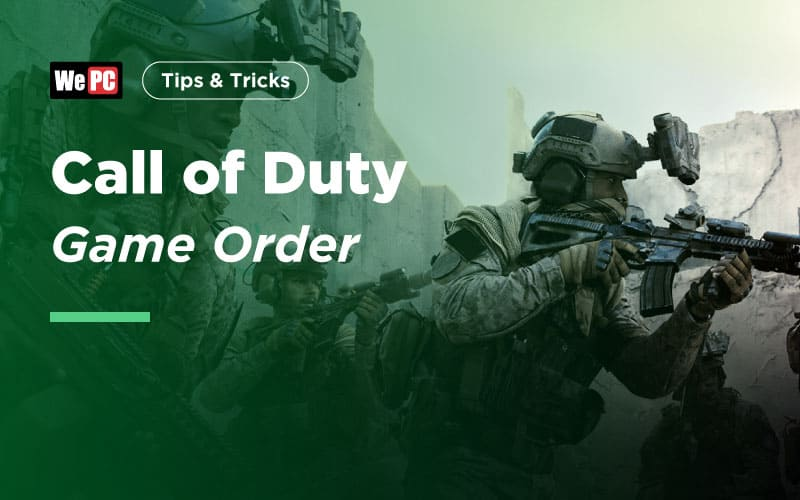 Call of Duty game order