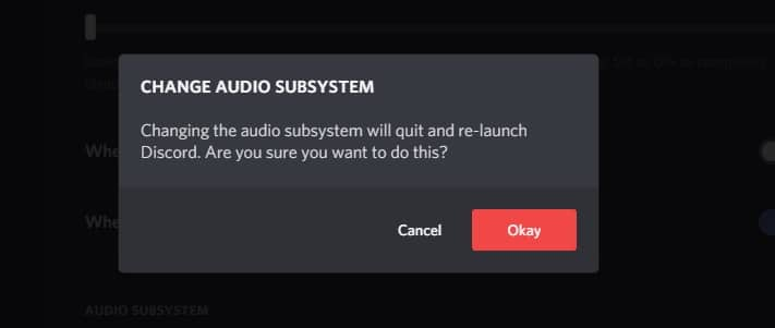 Discord subsystem