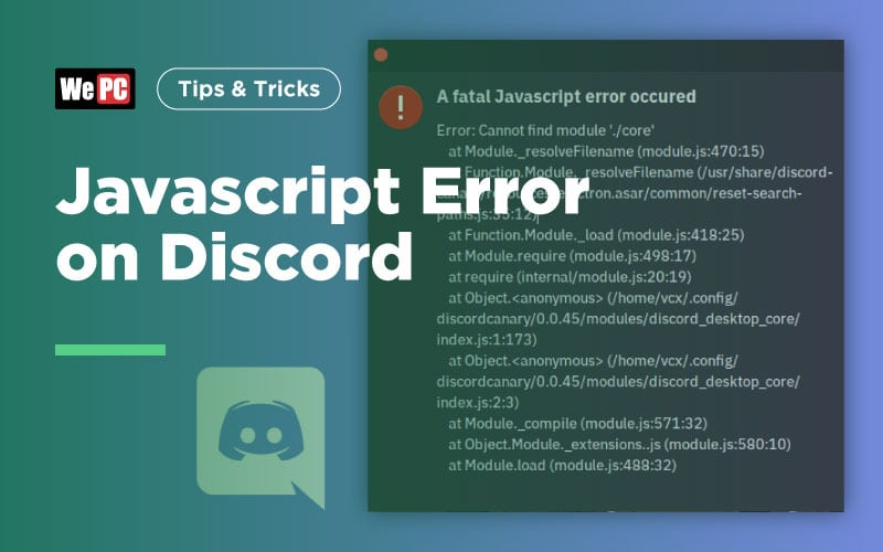 Javascript Error on Discord