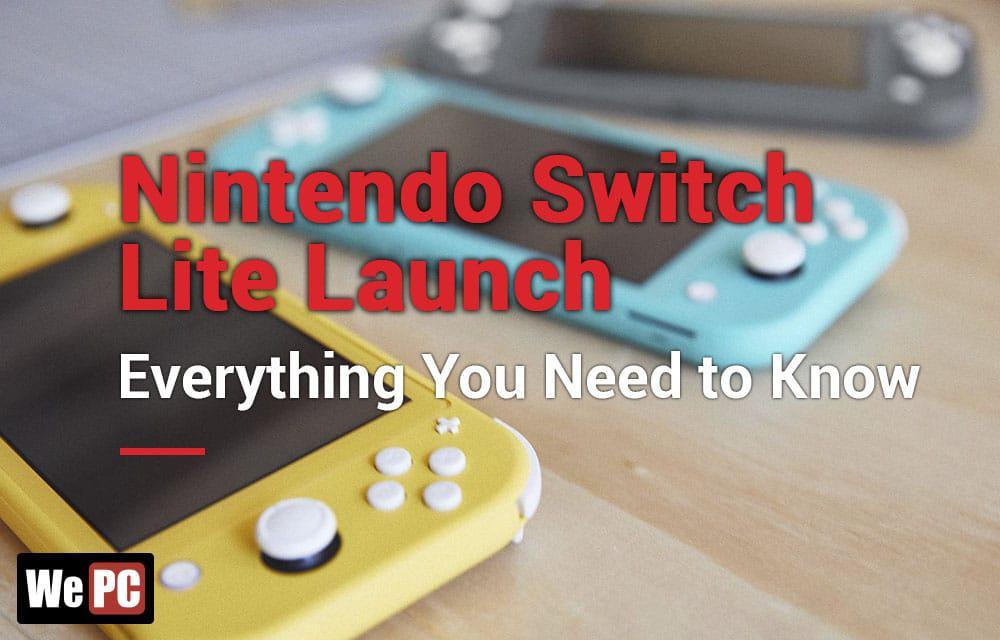 Nintendo Switch Lite Launch