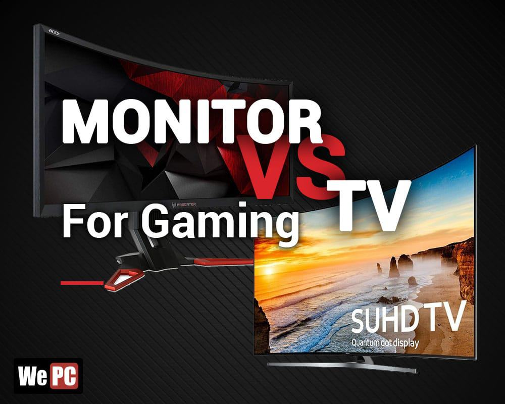 TV vs Monitor For Gaming (Console & PC Gaming) - Whats the