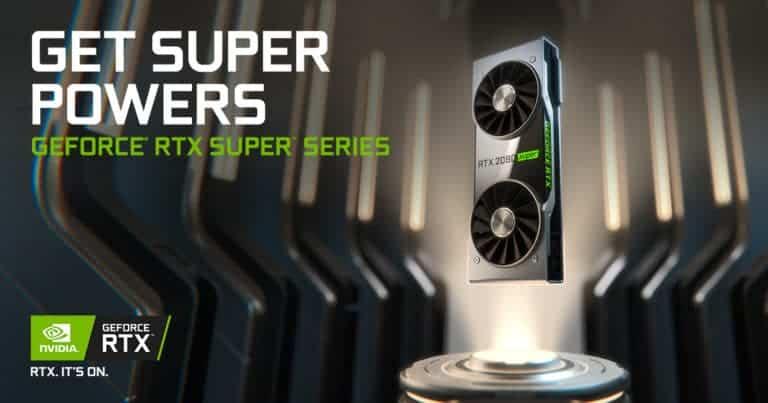 nvidia geforce 20 super series graphics cards