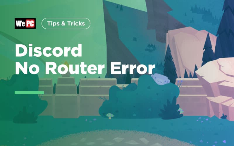 Discord No Router Error