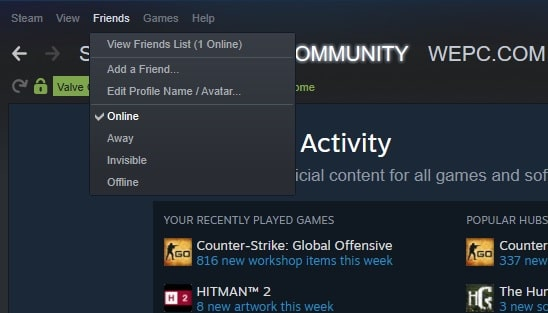 How to Change Steam Account Name