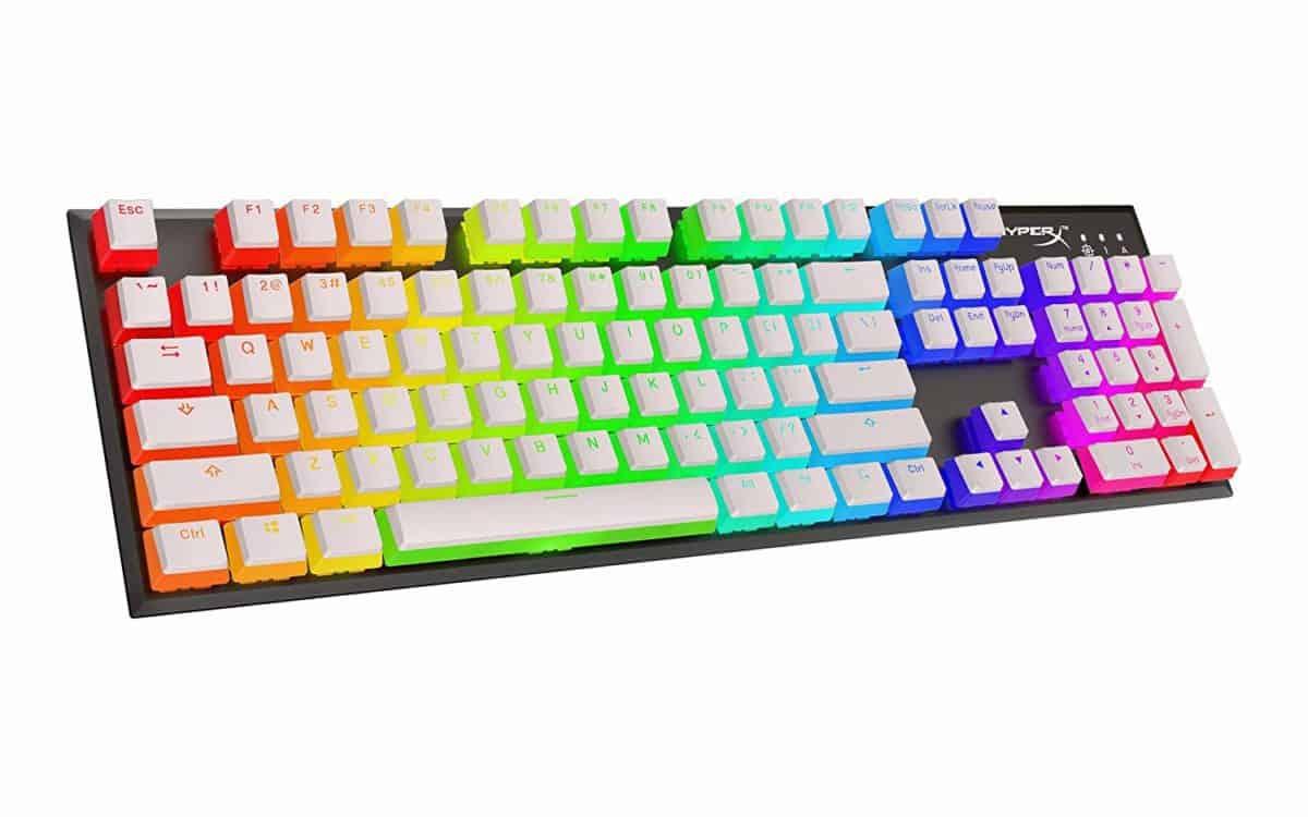 HyperX White Pudding Keycaps