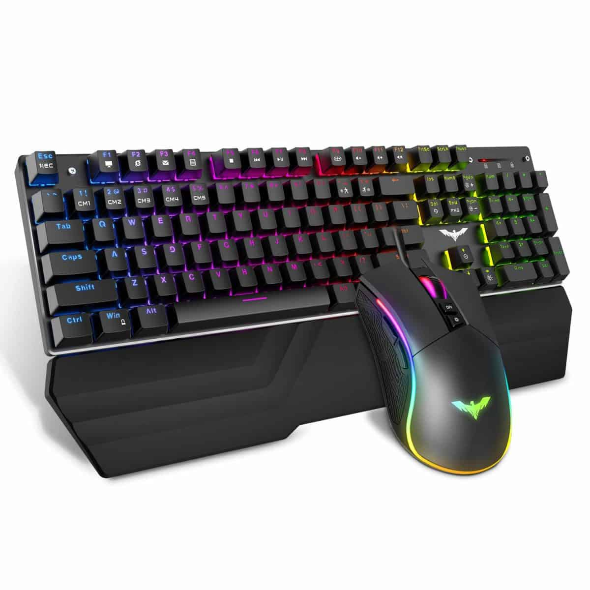 Havit Mechanical Keyboard and Mouse Combo