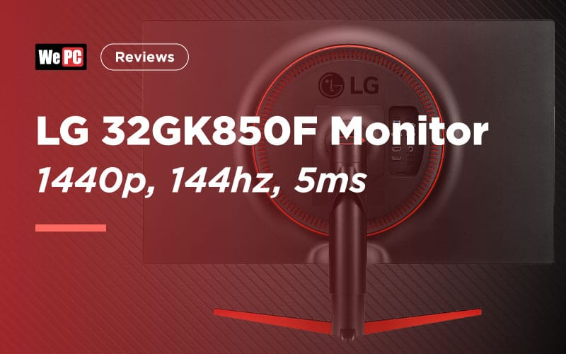 LG 32GK850F Monitor