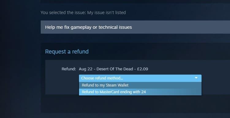 Refund steam game 6