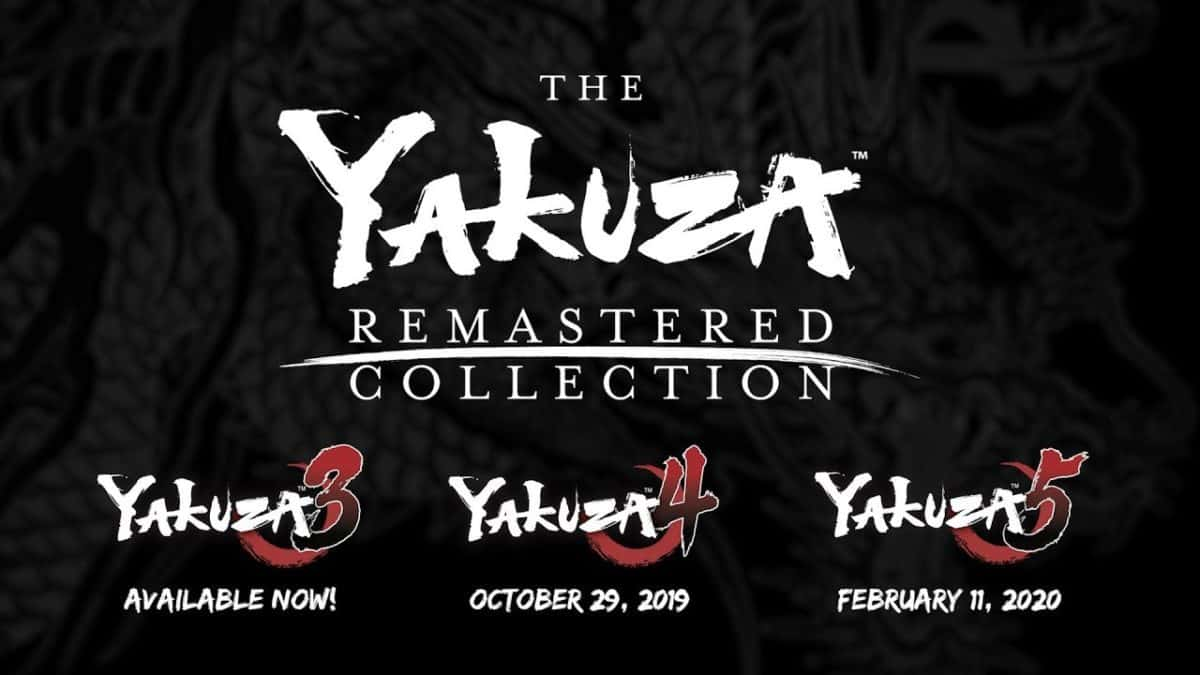 Sega Unveils Western Version Of The Yakuza Remastered Collection
