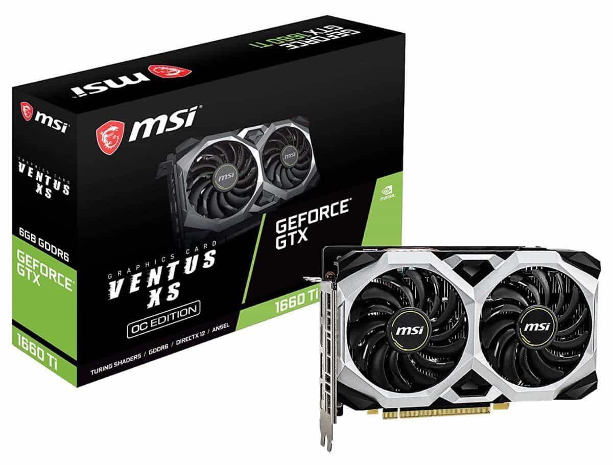 MSI Gaming GeForce GTX 1660 Ti Ventus 6GB