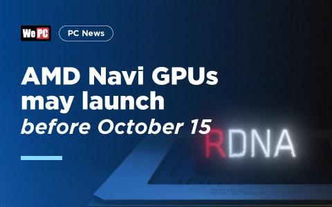 AMD Navi GPUs 1