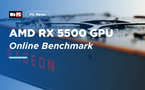 AMD RX 5500 GPU Benchmark