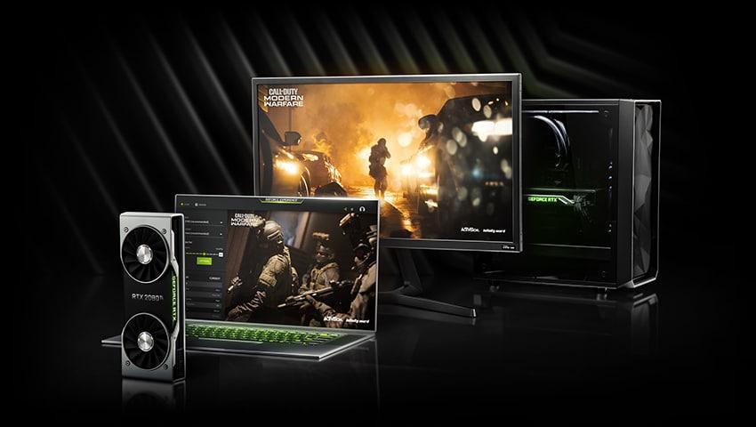 Call of Duty GeForce