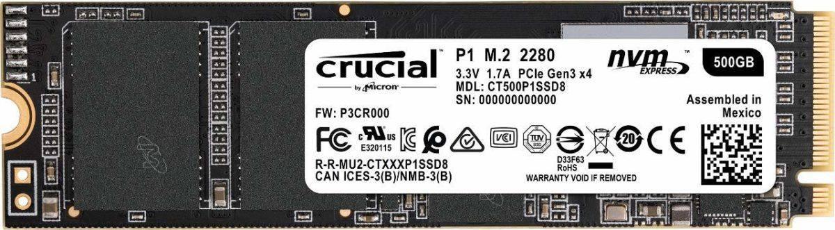 Crucial P1 M.2