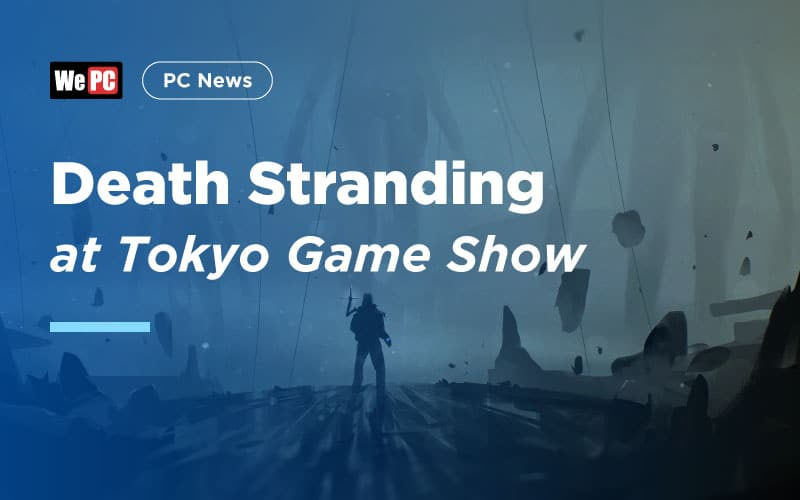 Death Stranding at Tokyo Game Show 1
