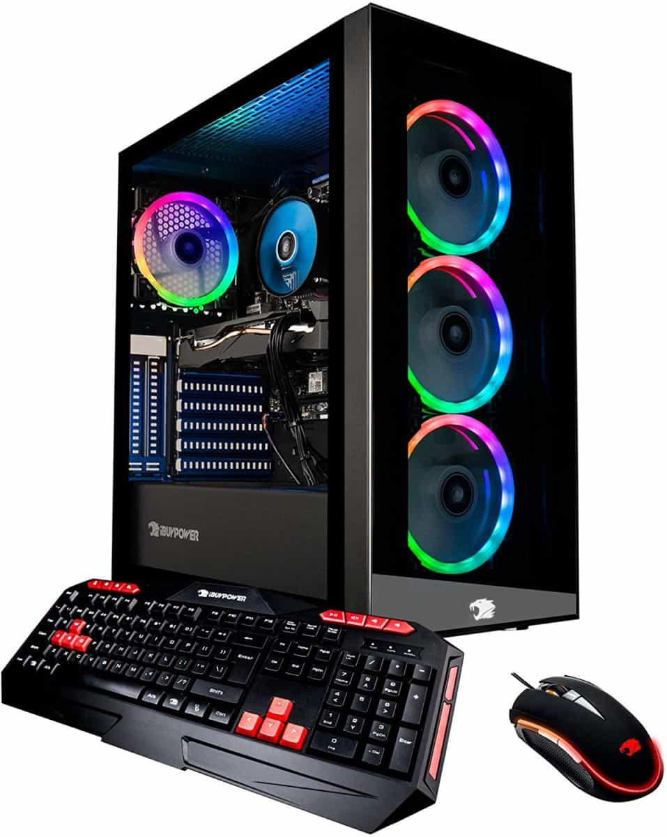 iBUYPOWER Gaming PC Computer Desktop Element MR