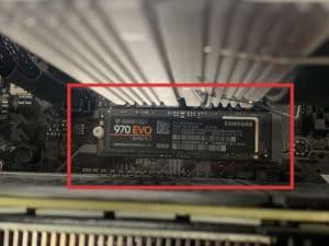 Install SSD 15