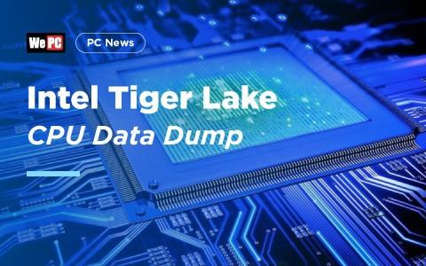 Intel Tiger Lake CPU Data Dump