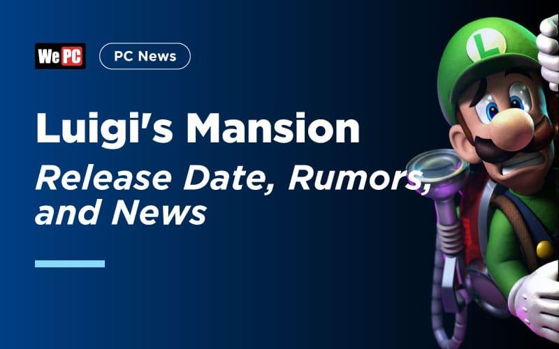 Luigis Mansion release