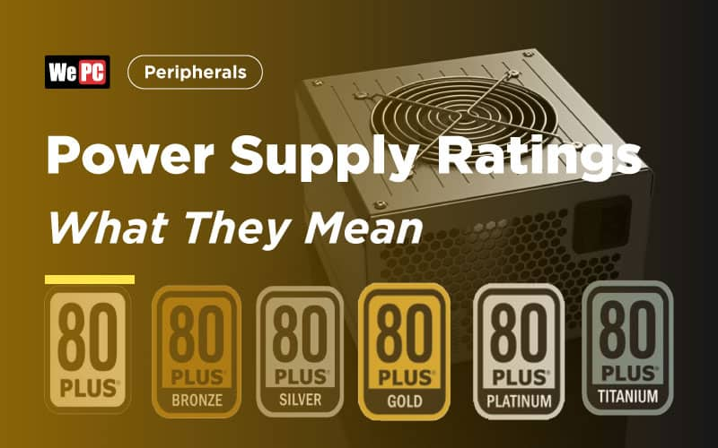 Power Supply Ratings