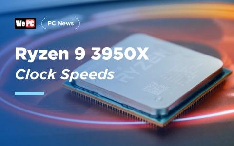 Ryzen 9 3950X Clock Speeds