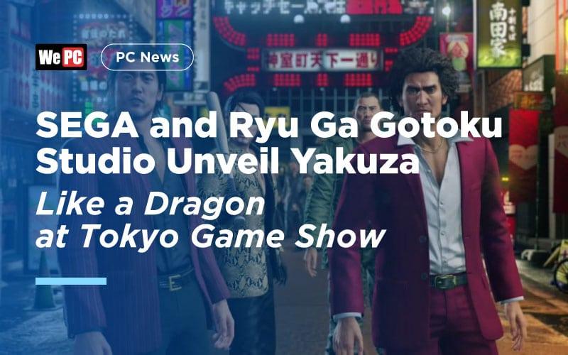 SEGA and Ryu Ga Gotoku Studio Unveil Yakuza