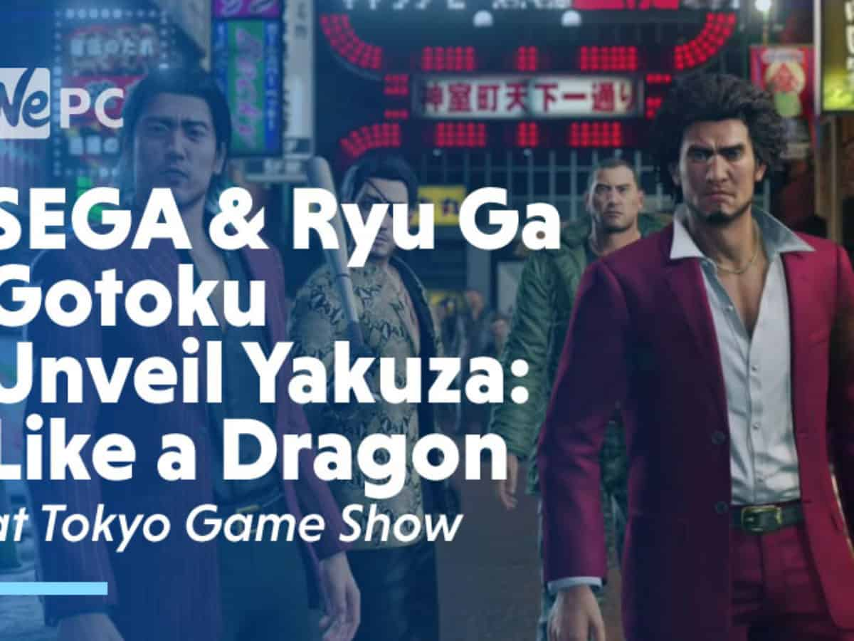 Sega And Ryu Ga Gotoku Studio Unveil Yakuza Like A Dragon At