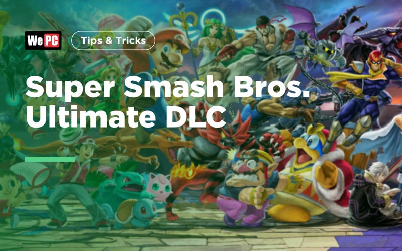 Super Smash Bros Ultimate DLC