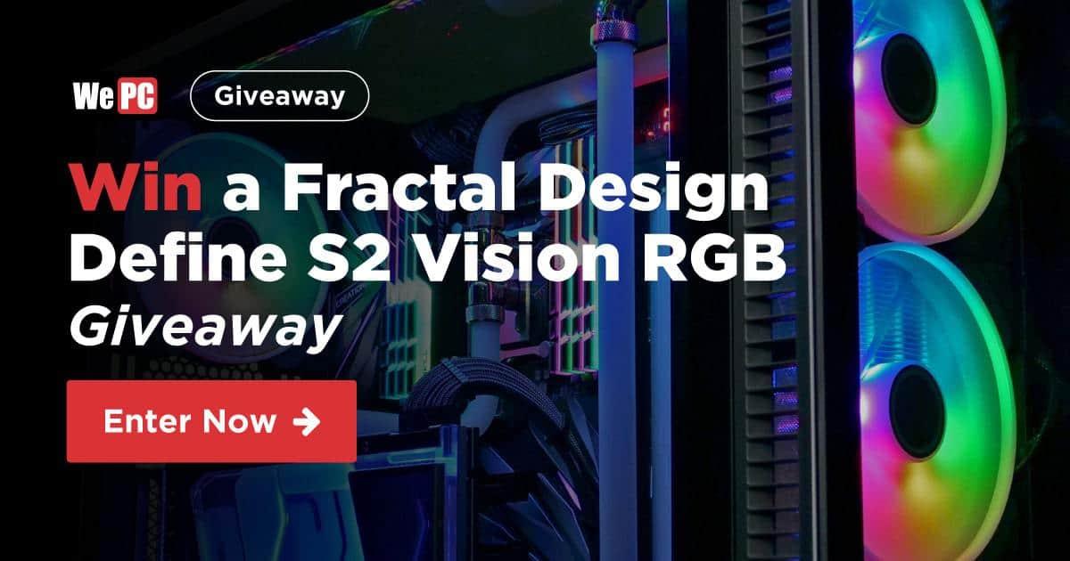 Fractal Design Define S2 Vision RGB Giveaway FB