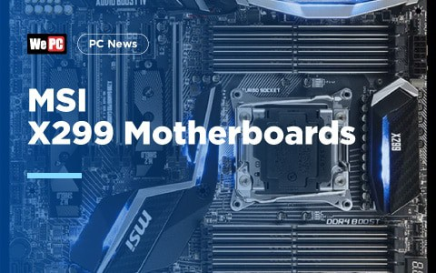 MSI X299 Motherboards