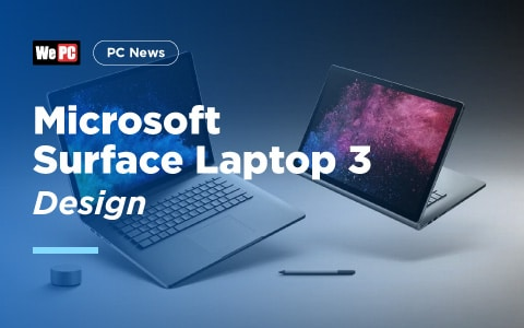 Microsoft Surface Laptop 3 Design