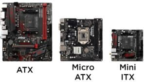 Motherboard Size Comparison