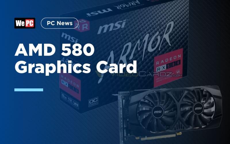 AMD 580 Graphics Card